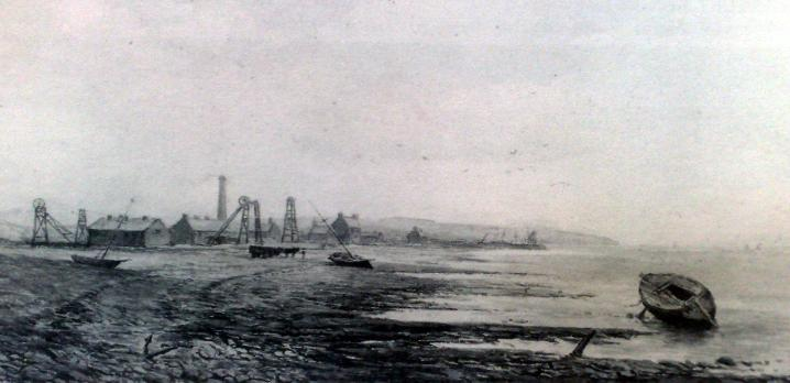 Neston Colliery's Painted by Arthur Suker in 1875